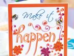 Quilling How-To: Bees and Lettering