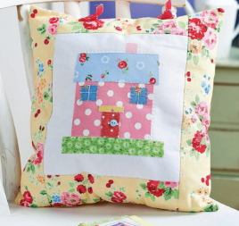 New Home Cross-Stitch and Cushion