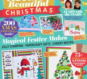 Crafts Beautiful November 2018 Issue 325 Template Pack