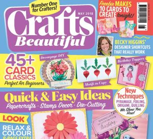 Crafts Beautiful May 2018 Issue 318 Template Pack