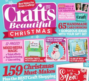 Crafts Beautiful Christmas Special 2019 Issue 338 Template Pack