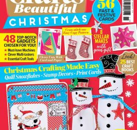 Crafts Beautiful November Issue 312 + Mini Mag Template Pack