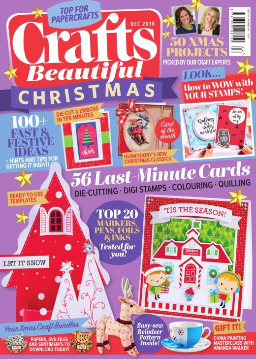 Crafts Beautiful December 2018 Issue 326 Template Pack