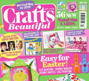 Crafts Beautiful April 2019 Issue 331 Template Pack