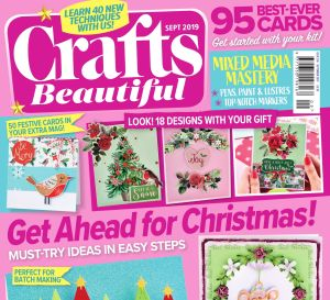 Crafts Beautiful September 2019 Issue 336 Template Pack