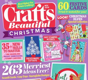 Crafts Beautiful November 2019 Issue 339 Template Pack