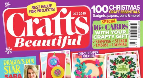 Crafts Beautiful October 2019 Issue 337 Template Pack