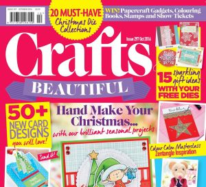 Crafts Beautiful October 2016 Issue 297 Template Pack