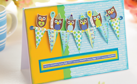 Happy Owl Card