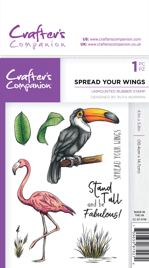 Win One of Six Crafter's Companion Stamp Sets