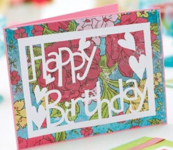 happy birthday love  bird papercutting templates  free