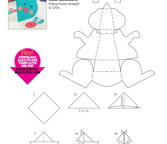 Papercraft Animals Free Card Making Downloads Card Making