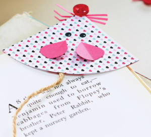 Papercraft Mouse Bookmark