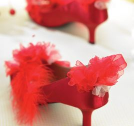 Party Shoes & Corsage