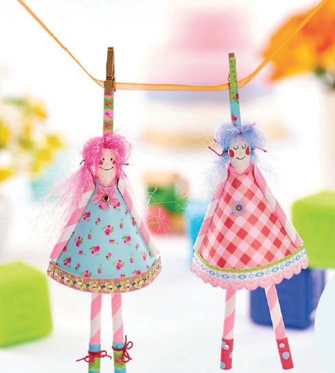 Fairytale Peg Dolls