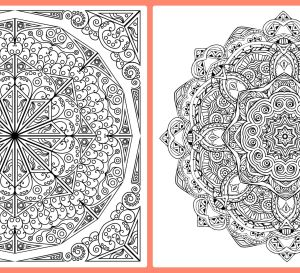 More Mandala Colouring In Pages