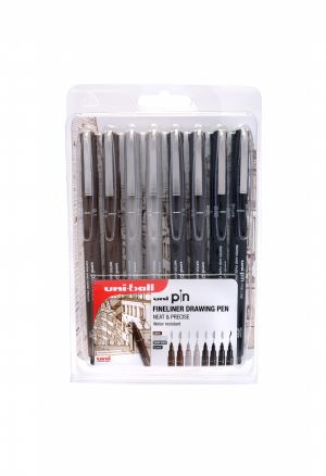 Win One Of Twelve uni-Pin Fine-Liner pen packs