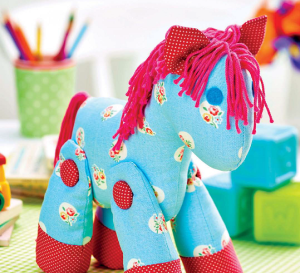 Stitched Pony Toy