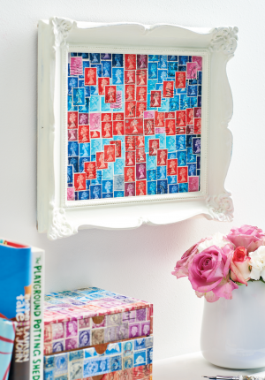 Postage Stamp Creations