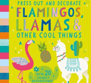 FREE 3-D Llama, Flamingo and Cactus Decorations