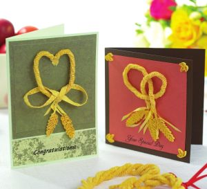 Quilling And Plaiting Cards