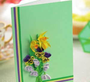 Quill Springtime Cards