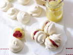 Raspberry Crush Mini Meringues