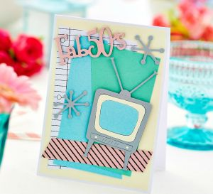 Retro 50s Card Project