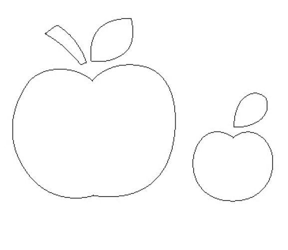 Apple Applique Teacher Gift Templates - Free Card Making ...