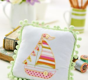 Sailboat Cushion Motif