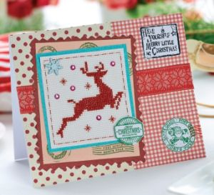 Scandi Style Christmas Cross-stitch Chart