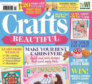 Crafts Beautiful September 2017 Issue 309 Template Pack
