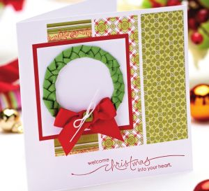 Seven different ideas for using ribbons in your seasonal greetings