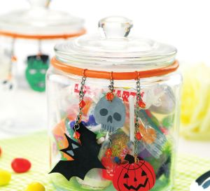 Shrink Plastic Halloween Decs