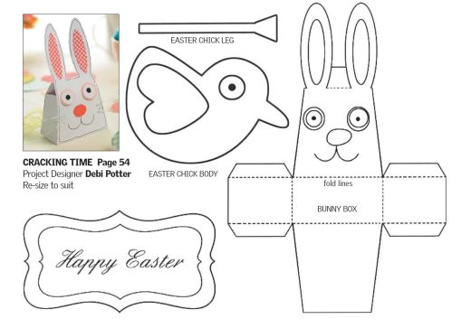 Springtime Easter Papercraft Free Card Making Downloads Card