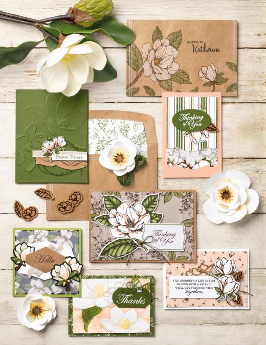 Win One Of Four Magnolia Cardmaking Collections
