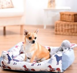 Stitched Pet Bed Template