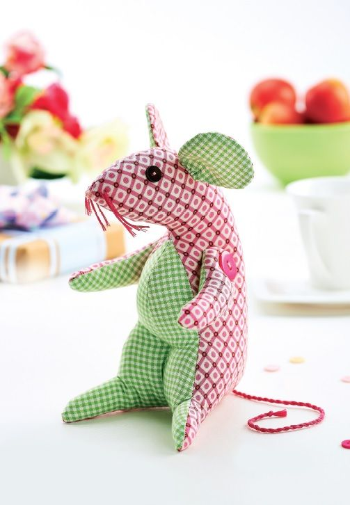 Mouse Teddy Sewing Pattern - Free Card Making Downloads | Stitching ...