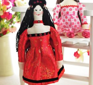 Stylish Oriental Doll