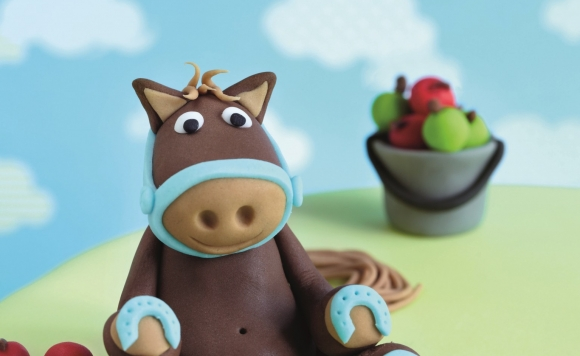 Sugarcraft Horse Cake Decoration