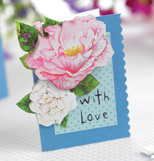 Thinking Of You Decoupage Cards