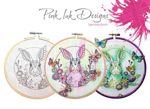 Win One Of Twelve Embroidery Patterns