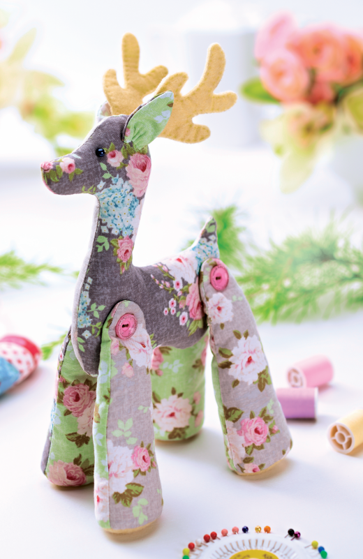 Tilda Reindeer - Free Craft Project – Stitching - Crafts Beautiful ...