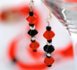 Touch of Glass Earrings