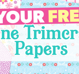 Your FREE June Trimcraft Papers