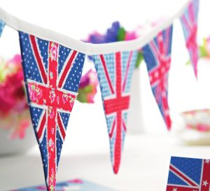Union Jack Bunting And Cards