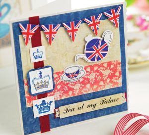 Union Jack Tea Party Invitations