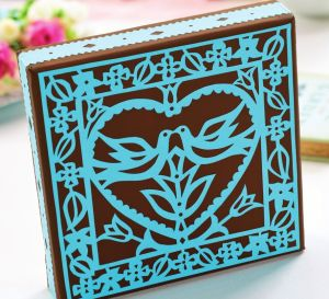 Use Ellen Kharade's Designs To Papercut Wedding Treats