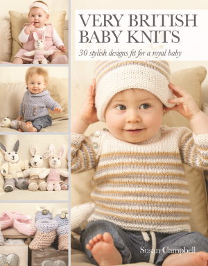 Win a Signed Copy of Very British Baby Knits by Susan Campbell