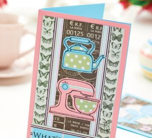 Vintage Home Papercraft & Card Motifs